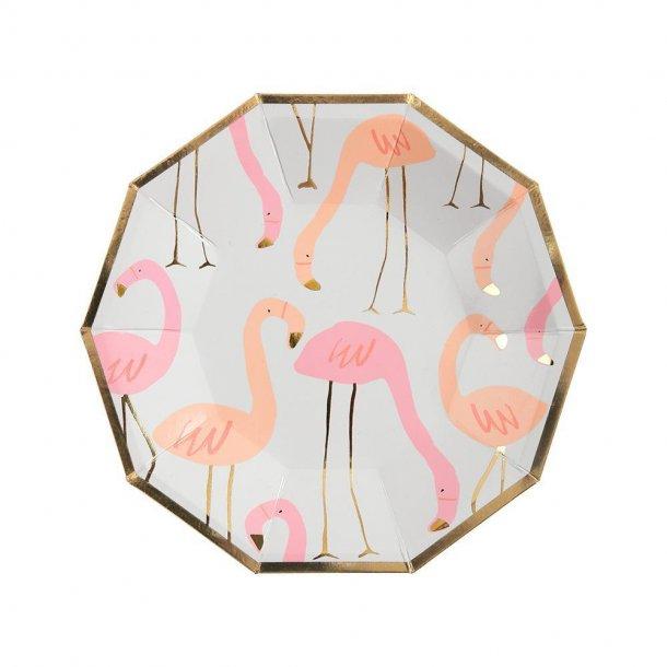 Flamingo tallerken