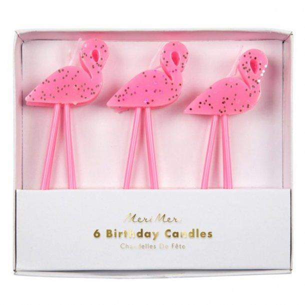Flamingo fødselsdags lys