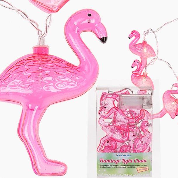 Flamingo lyskæde