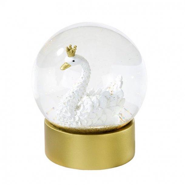 Snow globe svane